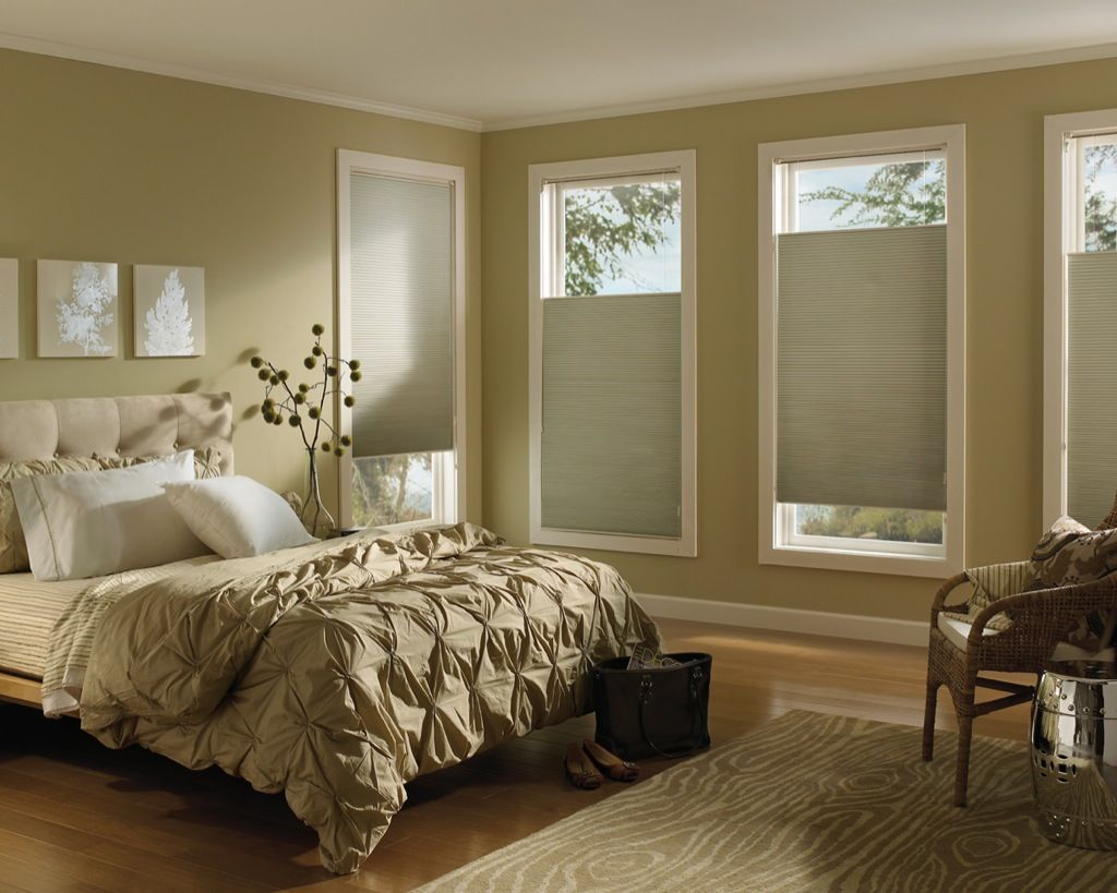 Hunter Douglas Applause Honeycomb Shades with the Top-Down/Bottom-Up