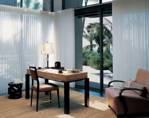 Picture of hunter douglas Luminette® Privacy Sheers window treatments